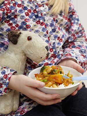 СЁМЕ!  Рецепт «Овощное карри с фасолью» из книги «River Cottage Еда для самых маленьких». Издательский Дом «КукБукс». - Рецепты для детей — рецепты из книг ИД «КукБукс» - Рецепты