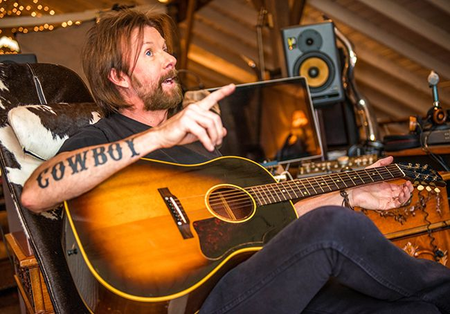 Behind the Scenes Ronnie Dunn Recording Studio with ...