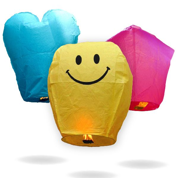 Just Artifacts is the leading provider of Chinese sky lanterns online. Our flying Chinese sky floating lanterns come in a variety of shapes and colors.