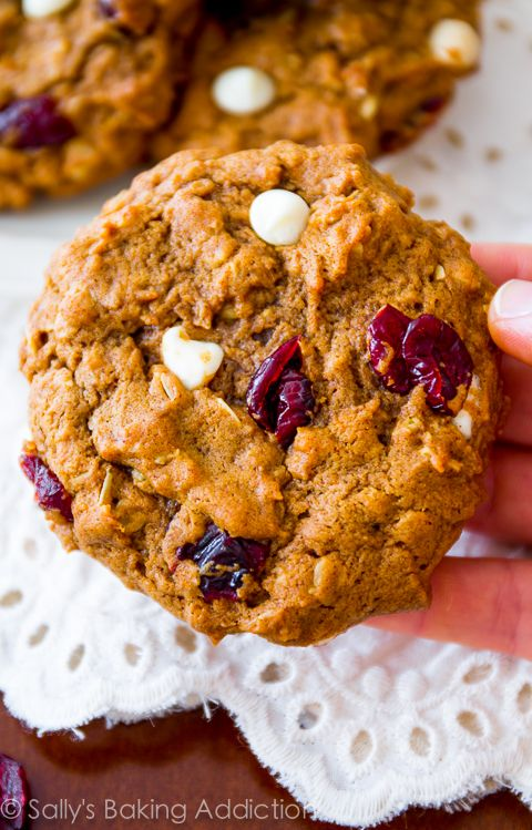 Pumpkin Oatmeal Cookies | Recipe | Pumpkin Oatmeal, Pumpkin Oatmeal ...