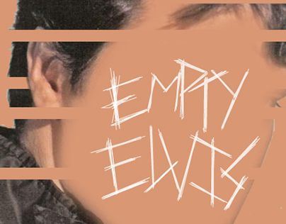 """Check out new work on my @Behance portfolio: """"Empty Elvis"""" http://on.be.net/1SystKX"""