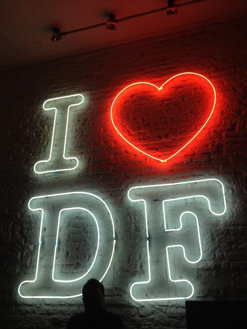 I LOVE D.F.  ( MEXICO CITY )