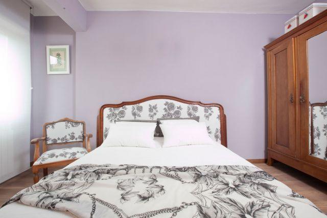 Dormitorio de estilo clásico - vista general