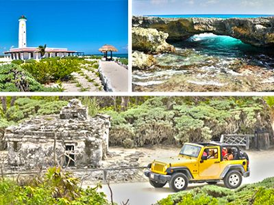 Take an adventure of a lifetime, with this Custom Private Jeep Tour in Cozumel Mexico. This Cozumel Jeep tour lets you customize the things you want to do in #Cozumel #Mexico. For $69 it includes Transportation from Cruise Port/Resort, Private Guide & Jeep, Punta Sur Park Pass, Beer, Food, Drinks, Guided Snorkel Tour, Beach Break, Beach Bar/restaurant, Tequila Tour and you have the opportunity to customize the Cozumel jeep excursion