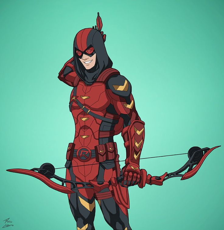 Red Arrow v.2 (Earth-27) commission by phil-cho.deviantart.com on @DeviantArt