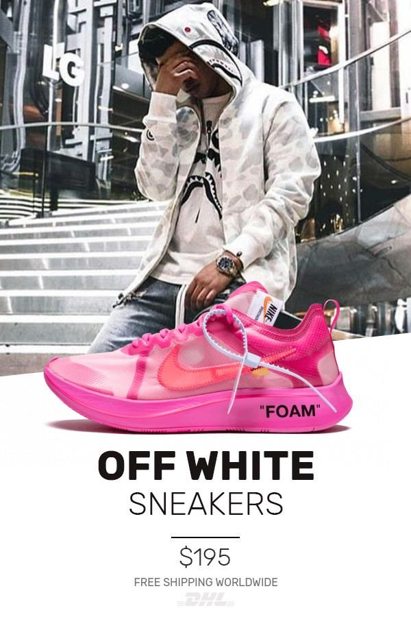 8de579f7e111 Buy new Nike Off-White The 10   OW Zoom Fly Tulip Pink UA sneakers ...