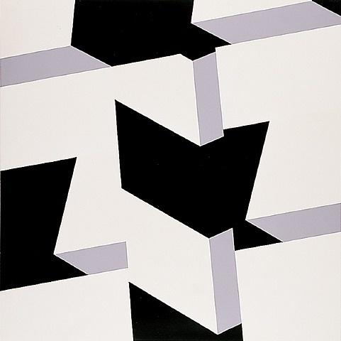 Allan d'Arcangelo / Landscape II, 1969