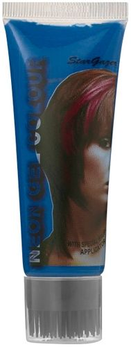 gel coloration stargazer neon uv blue teinture bleue phmre couleur pour mches - Gel Colorant Cheveux