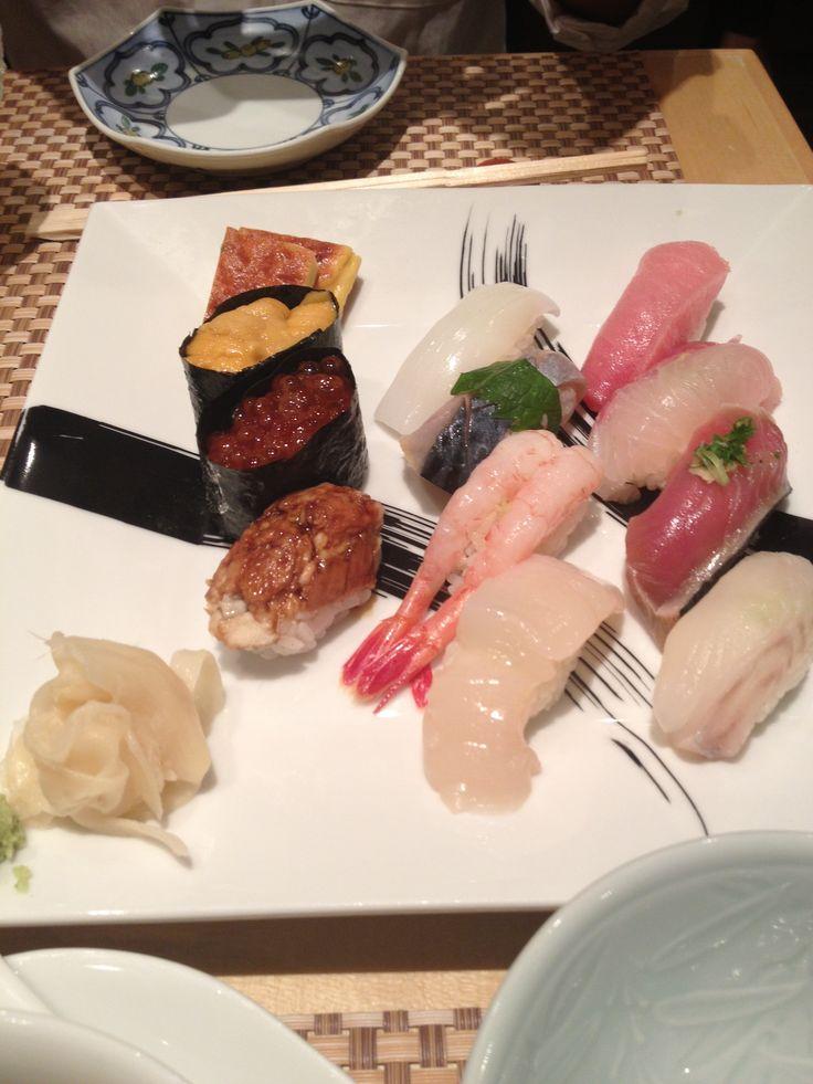 Sushi hiro - dinner set part 1
