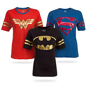 ThinkGeek :: Superheroine Hockey Stripe Babydoll
