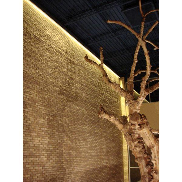 Grazing Lights Along Textured Walls Architectural Lights