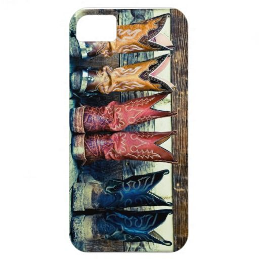 Cowboy Boots Iphone 5 case...why can't they have it for the 4?! :(