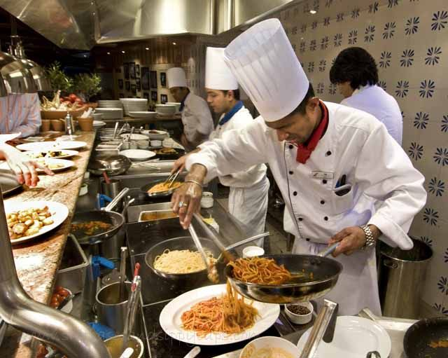 Places to eat-including specialty restaurants aboard the ...