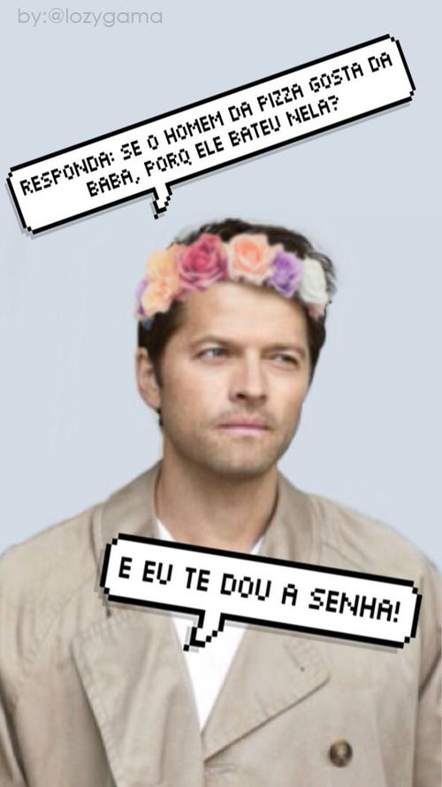 Imagem de supernatural, wallpaper, and castiel