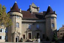 Château de Montlaur . Aubenas. Rhône-Alpes