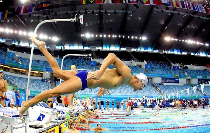 World record holder in the 50 freestyle photo by satiro sodr 233 cbda