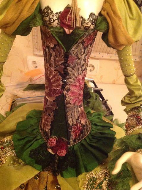 Кукольная мастерская ANNADAN: Уже почти закончила новую куклу.