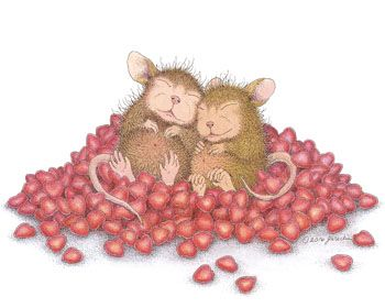 Mudpie & Amanda from House-Mouse Designs®. Click on the image to see all of the very mice products that this image is available on.