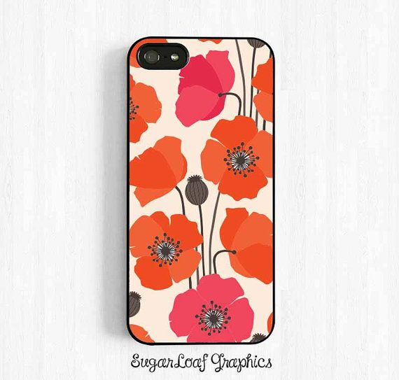 Poppy Flower iPhone 6 Case - Samsung Galaxy s3 s4 s5, Note 3 Case, iPhone 6 plus 5s 5c 5 4s Case Colorful Spring Flower Easter UL45