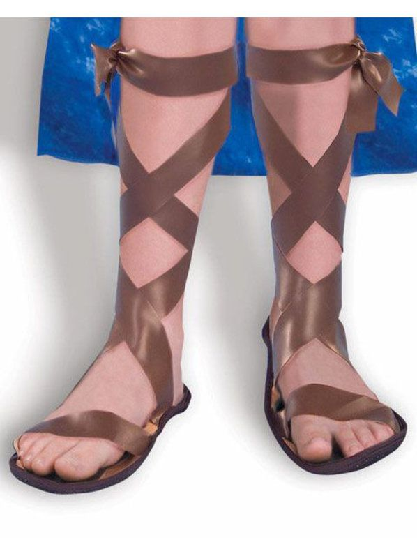 5ced18ce60c14 Check out Brown Roman Sandals Child - Costume Accessories for 2018