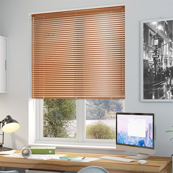 Essence Copper Venetian Blind - 25mm Slat from Blinds 2go