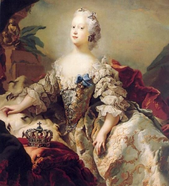 Louisa Hanover, Princess of Great Britain and Ireland, born 1724, London, the daughter of George II Augustus Hanover, King of Great Britain, and Wilhelmine Charlotte Karoline Prinzessin von Brandenburg-Ansbach. She married Frederik V Oldenburg, King of Denmark, son of Christian VI Oldenburg, King of Denmark and Sophie Magdalen von Brandenburg-Kulmbach. By Carl Gustav Pilo.