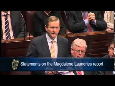Enda Kenny issues formal State apology to Magdalene survivors  Watch the Taoiseach's full, historic 17-minute speech as he apologised to the women committed to Magdalene Laundries.