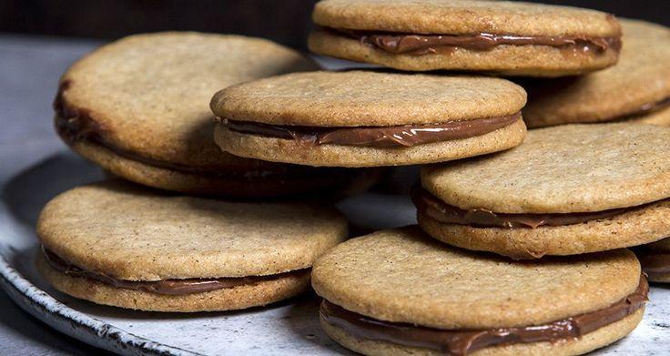 Печенье сдобное с фундуком Шоколад пралиновой Заполнение