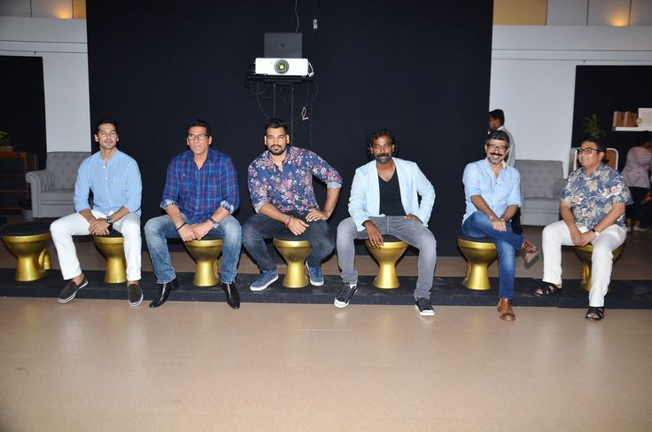 Dino Morea, Mukesh Rishi, Raghav Rishi, artist Akhilesh Kumar, Arzan Khambatta and Dilip Joshi at Akhilesh Kumar's 'Sochalay' art show inauguration at Jehangir Art Gallery