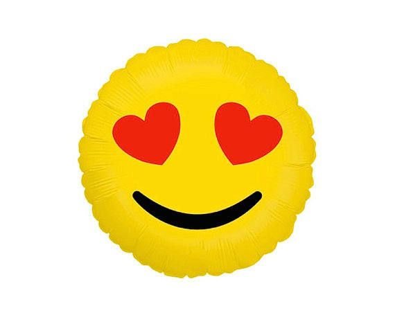 Love Eye Emoji Balloon Grad Party Photo Booth Emoji