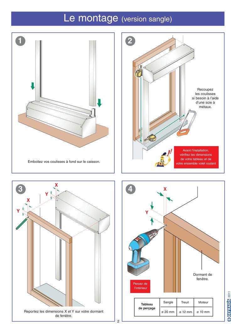 Page 2.  La notice Gefradis vous aide à poser votre volet roulant rénovation (à coffre extérieur) vous-même.