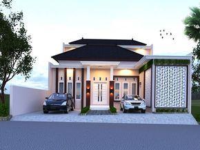 Gambar Desain Rumah Minimalis Modern 1 Lantai Tampak Depan Casa