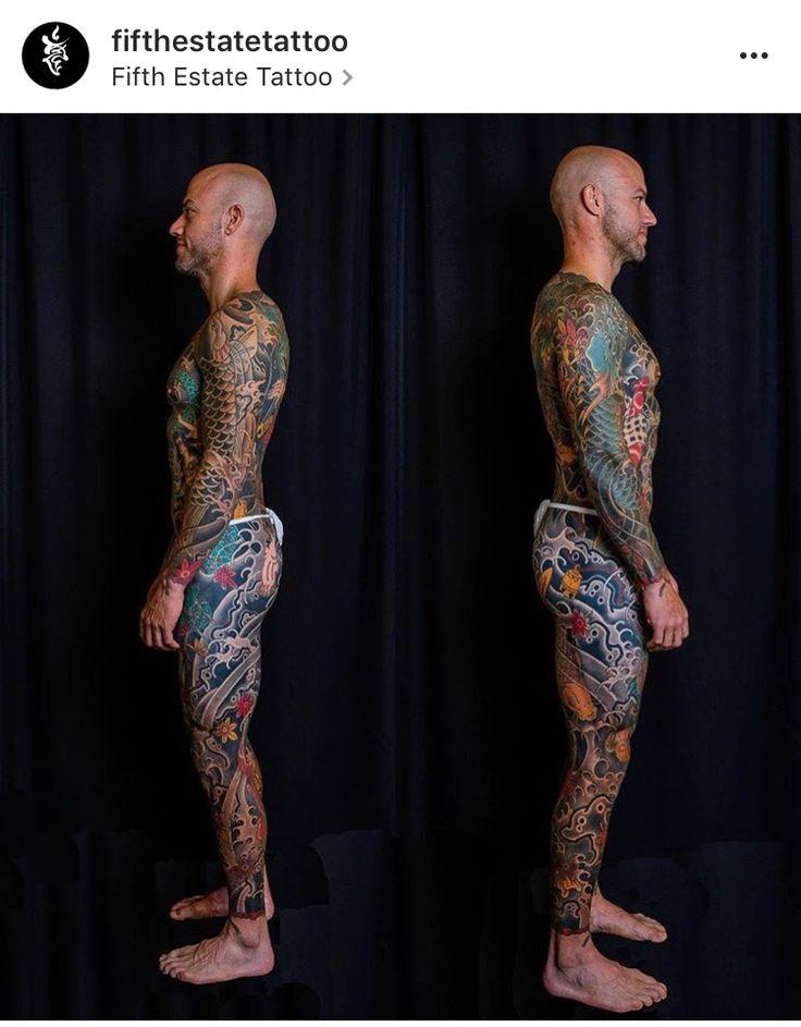 Full body suit by joshcartertattoo