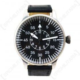 Black Vintage Pilot Watch