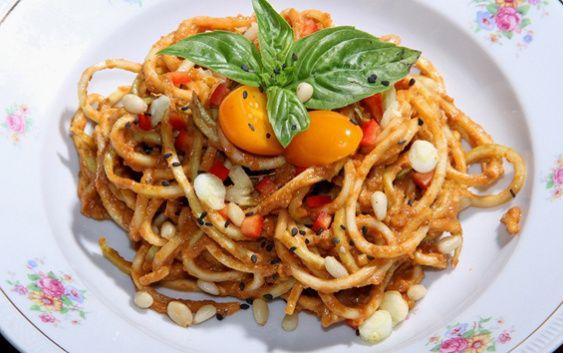 Recept na cuketové špagety