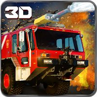 911 Rescue Fire Truck 3D Sim 1.0.5 FULL APK  MOD Unlocked  games simulation
