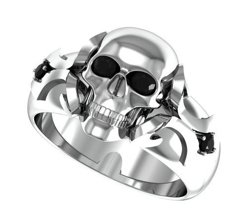 skull wedding rings for men skull wedding rings for women - Skull Wedding Rings