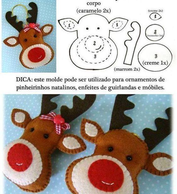 Moldes de Natal em E.V.A para você baixar e imprimir Moldes de E.V.A para você criar lindos trabalhos para o natal!! Com esse lindo moldes você pode criar muitos enfeites, use a criatividade e aproveite. Para ver as imagens em boa resolução e copiar, clicar com o lado esquerdo do mouse para ampliar a imagem! …