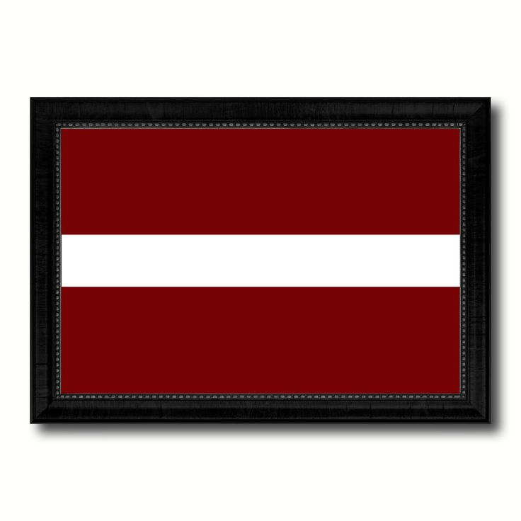 Latvia Country Flag Canvas Print, Picture Frame Home Decor Gifts Wall