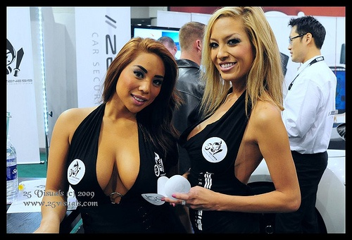 Computer Electronic Show | TechnoGirls | Pinterest | Computers