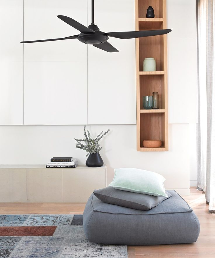 Airfusion Sensation 137cm Fan Only In Black