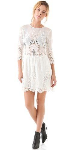 Dolce Vita Valentina Lace Dress ($275) ❤ liked on Polyvore