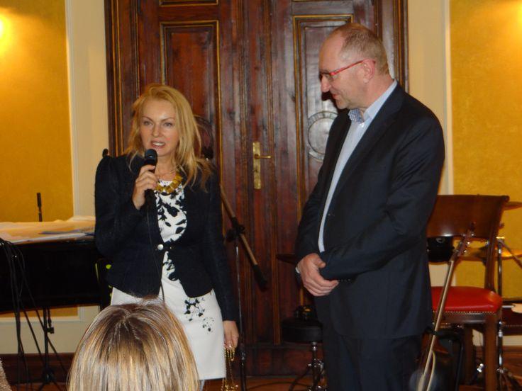 Danuta Nawrocka i Marek Grzona