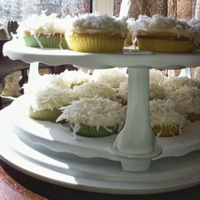 Coconut Rum Cupcakes