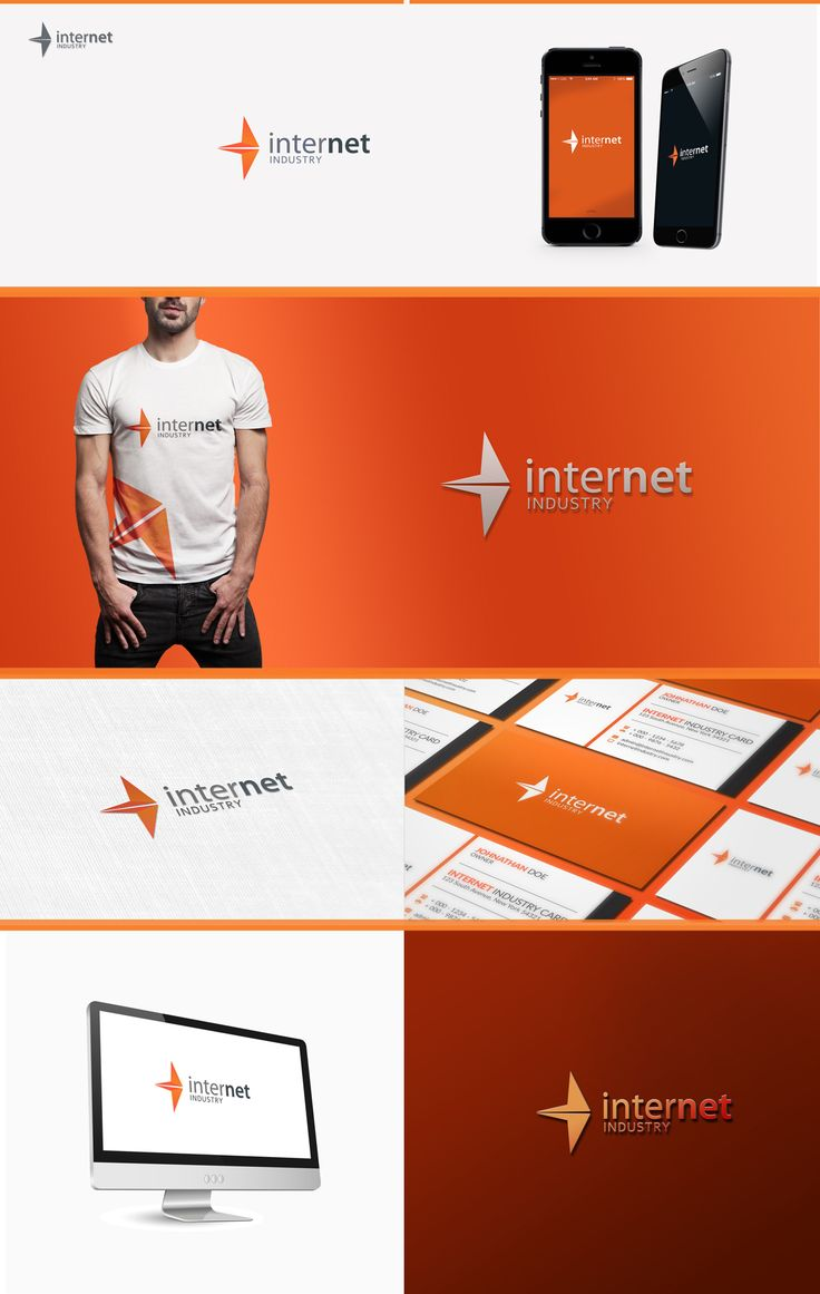 Time Saving Tech Logo Mock-up Vol.1 by Cudographic on Creative Market