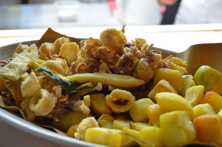 Frittura di pesce #bagnocerboli #follonica #maremma #toscana #food