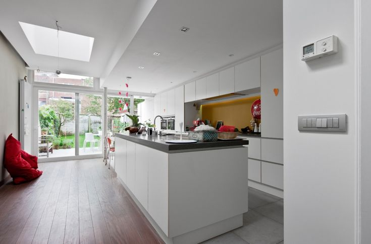 Gent, renovatie en interieurontwerp energiezuinige rijwoning - Projecten - Tube Architecten Gent