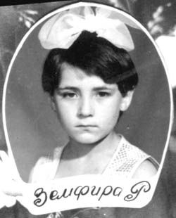 Zemfira Ramazanova in childhood