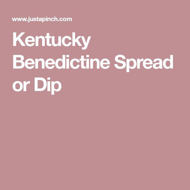 Kentucky Benedictine Spread or Dip