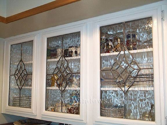 17 Best Images About Glass Kitchen Cabinet Inserts On
